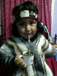 Pequeño mapuche